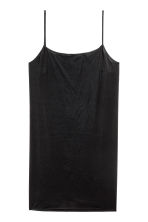 Microfibre underdress - Black - Ladies | H&M 2