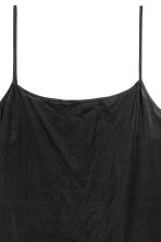 Microfibre underdress - Black - Ladies | H&M 3