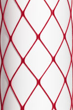 Fishnet tights - Dark red - Ladies | H&M IE 2
