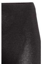 H&M+ 3/4-length leggings - Black - Ladies | H&M 3
