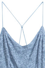 H&M+ Lace dress - Light blue - Ladies | H&M 4