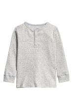 羅紋亨利衫 - Grey marl - Kids | H&M 2