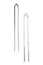 Long earrings - Silver - Ladies | H&M 1