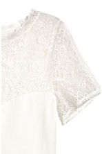 Top with lace - White - Ladies | H&M IE 3
