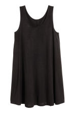 A-line jersey dress - Black - Ladies | H&M CA 2