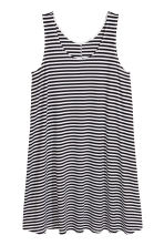 A-line jersey dress - White/Striped - Ladies | H&M 2