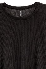 Ribbed jumper - Black - Ladies | H&M 3