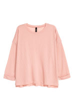 Ribbed jumper - Powder pink - Ladies | H&M 2