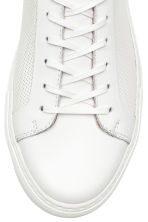 Leather trainers - White - Men | H&M CA 3