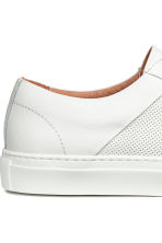 Leather trainers - White - Men | H&M CA 4