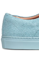 Leather trainers - Light blue - Men | H&M 5