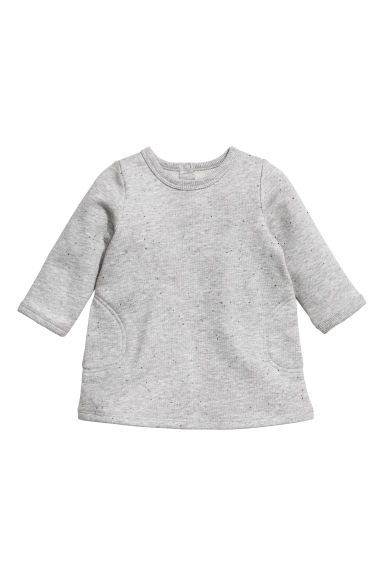 Robe à l'aspect tweedé - Gris clair - ENFANT | H&M BE