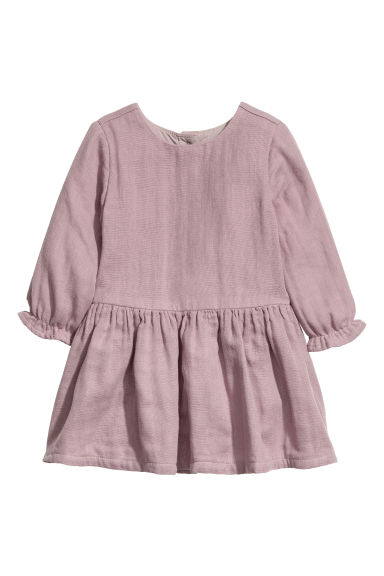 Cotton dress - Heather purple - Kids | H&M