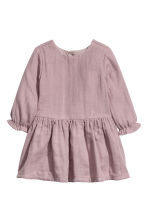 Cotton dress - Heather purple - Kids | H&M CN 1
