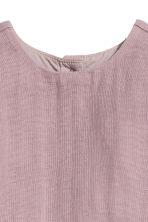 Cotton dress - Heather purple - Kids | H&M CN 2