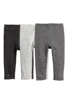 3-pack pima-cotton leggings