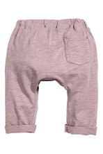 Slub jersey trousers - Heather purple - Kids | H&M 2