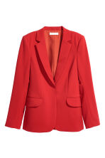 Fitted jacket - Red - Ladies | H&M GB 2