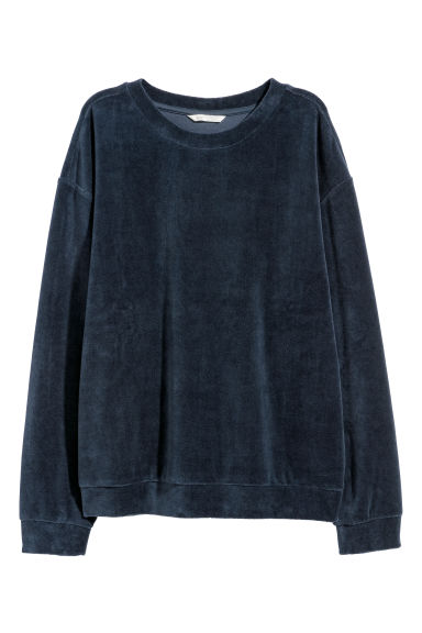 Sweater van velours Model
