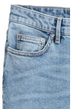 Slim Ankle High Jeans - Light denim blue - Ladies | H&M 4