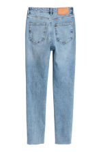 Slim Ankle High Jeans - Light denim blue - Ladies | H&M 3