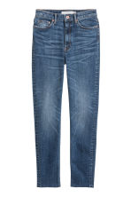 Slim Ankle High Jeans - Denimblauw - DAMES | H&M BE 2