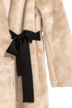 Faux fur coat - Beige - Ladies | H&M 3