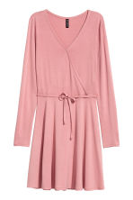 V-neck dress - Pink - Ladies | H&M GB 2