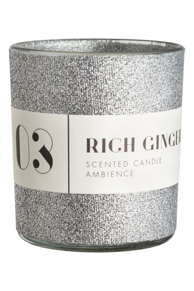 Bougie parfumée - Argenté/Rich Ginger - Home All | H&M FR