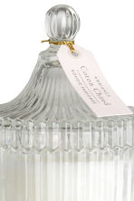 Bougie parfumée - Verre transparent/Coton Chaud - Home All | H&M FR 3