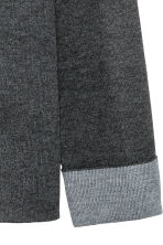 Knitted wool-blend jumper - Dark grey - Ladies | H&M 3