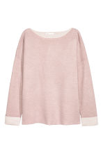 Knit Wool-blend Sweater - Pink - Ladies | H&M CA 2