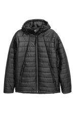 Padded sports jacket. - Black - Men | H&M 2