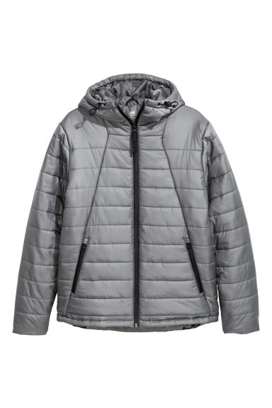 Padded sports jacket. - Grey -  | H&M GB