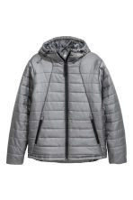 Padded sports jacket. - Grey - Men | H&M 2
