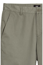 Relaxed chinos - Khaki green - Men | H&M GB 3