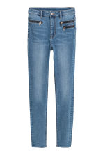 Slim High Ankle Jeans - Denimblauw -  | H&M BE 3