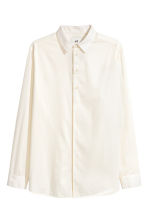 Cotton shirt - White - Men | H&M CA 2