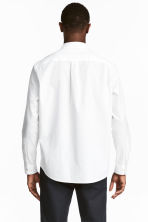 Pima cotton shirt - White - Men | H&M 4