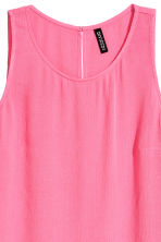 Crinkled top - Pink - Ladies | H&M CN 3