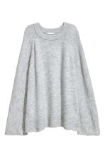 Knitted jumper - Light grey marl - Ladies | H&M IE 2