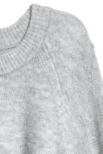 Knitted jumper - Light grey marl - Ladies | H&M IE 3