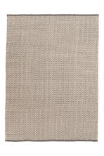 Cotton rug - Natural white/Patterned - Home All | H&M CA 1