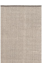 Cotton rug - Natural white/Patterned - Home All | H&M CA 2