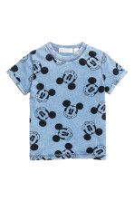 Blue/Mickey Mouse