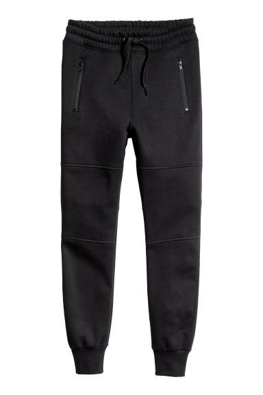 Generous fit Joggers - Black - Kids | H&M CN 1