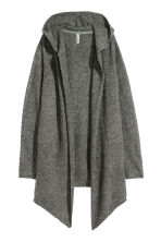 Hooded cardigan - Grey - Ladies | H&M 2