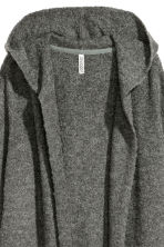 Hooded cardigan - Grey - Ladies | H&M 3