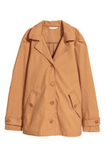 Lightweight cotton jacket - Camel - Ladies | H&M CN 2