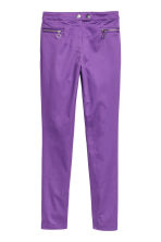 Stretch trousers - Purple - Ladies | H&M IE 2